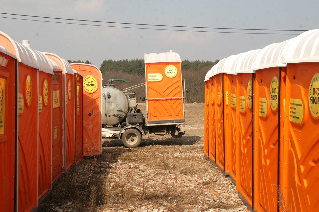 Toalety przenośne Dopiewo - wynajem