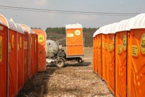 Wynajem toalet przenośnych na terenie Poznania i okolicznych powiatów