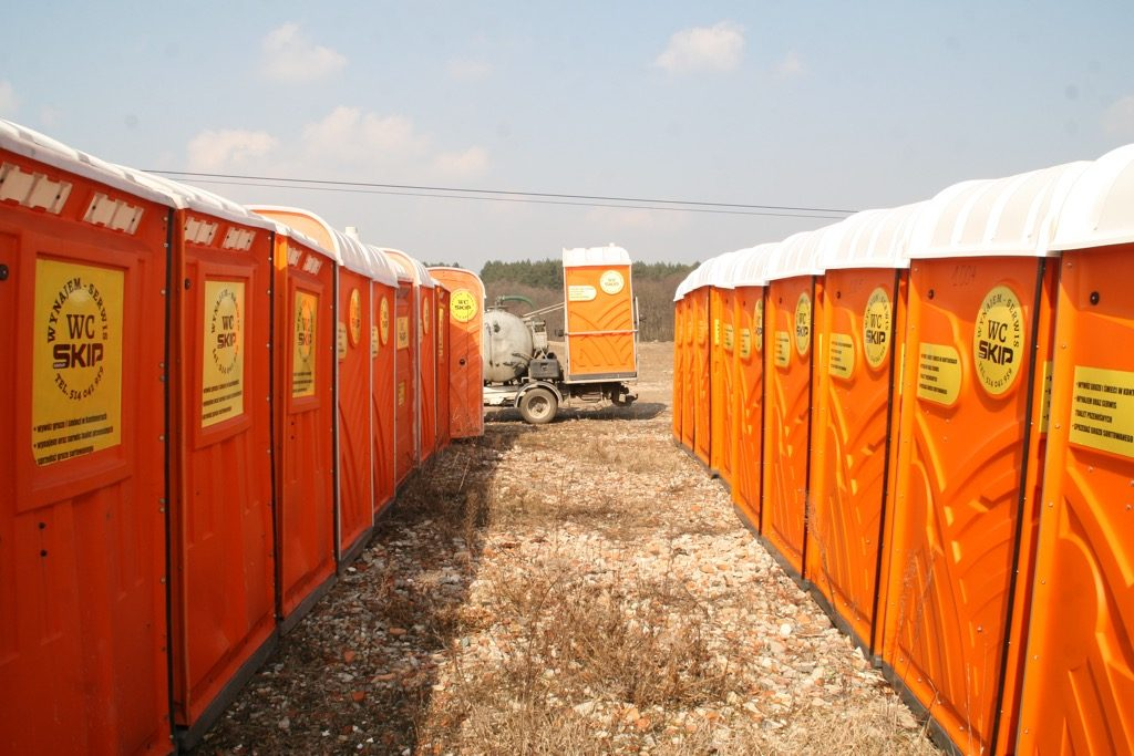 Toalety przenośne Śrem