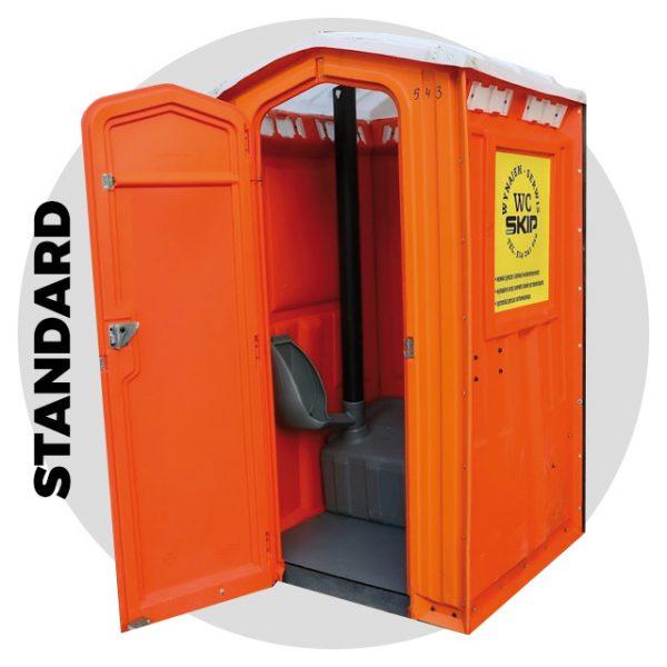 Toaleta przenośna standard na wynajem